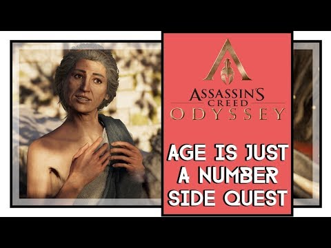 Assassins Creed Odyssey Age is Just a Number Side Quest Walkthrough All Choices