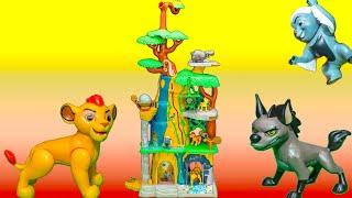 LION GUARD Disney Training Lair Lion Guard New Toys Video