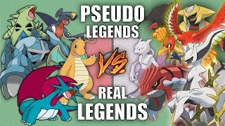 Battle of the PSEUDO LEGENDS vs REAL LEGENDS - Pokemon Battle Revolution (1080p 60fps)