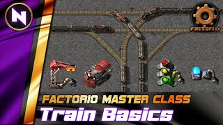 Getting Started with TRAINS & SIGNALS - Everything You Need To Know | Factorio Tutorial/Guide/How-to