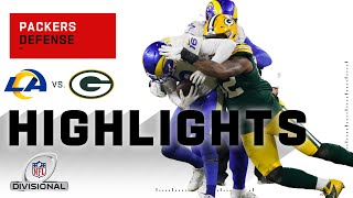 Packers Defense Holds Down the Fort in Green Bay | NFL 2020 Highlights