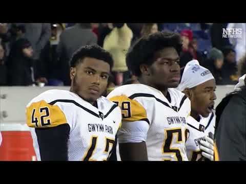 2017 Gwynn Park Yellow Jackets vs Damascus Hornets  2A MD State Football Championship