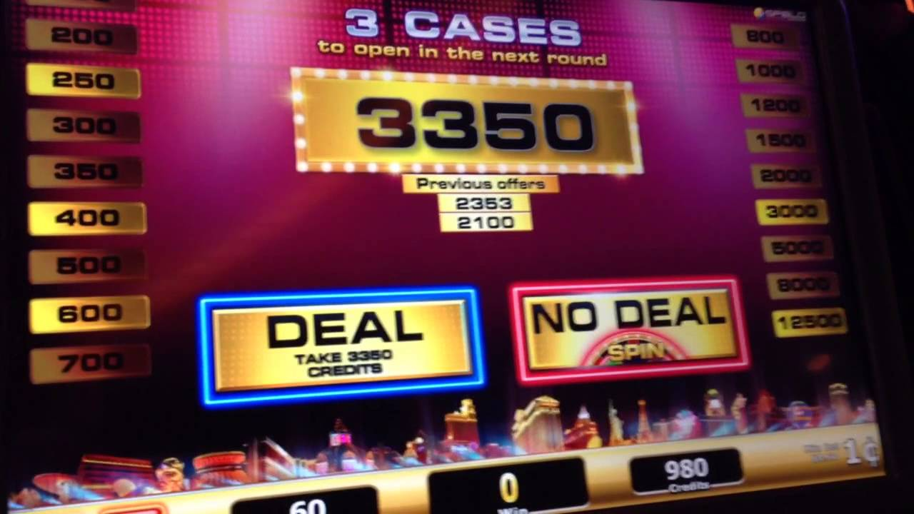 deal or no deal machine las vegas
