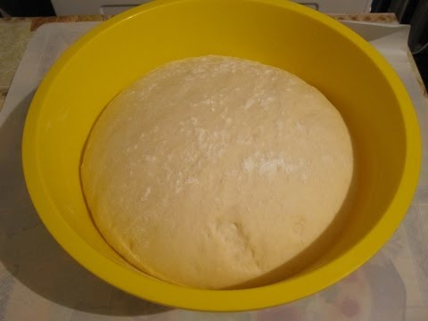 Дрожжевое не сладкое тесто, Рецепт приготовления без опары