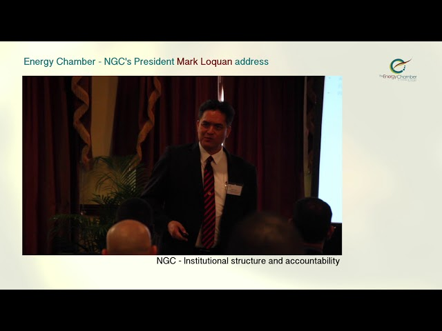 NGC President, Mark Loquan's Feature Address at TT Energy Chamber (Part 03 of 06)