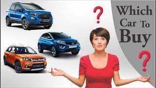 Top Selling SUV Cars of 2018 in India l Ford l Suzuki l Tata