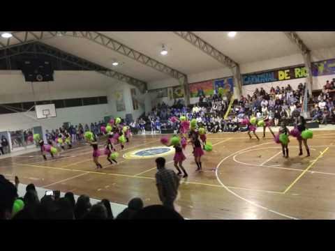 Baile porristas alianza Carnaval de Mexico CCLA 2016