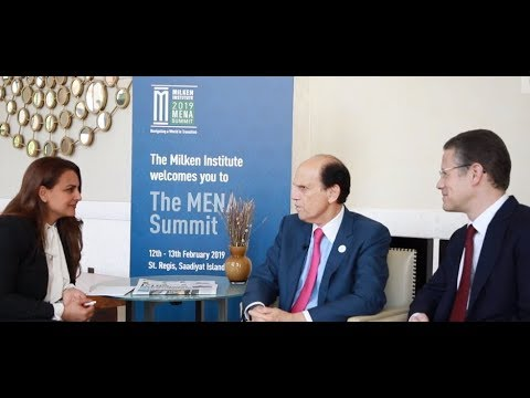 Mike Milken and Badr Jafar on strategic philanthropy