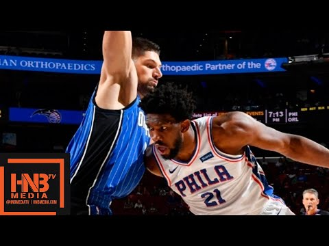 Orlando Magic vs Philadelphia Sixers 1st Half Highlights | 01.10.2018, NBA Preseason