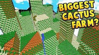 BIGGEST CACTUS FARM?!  | Minecraft FACTIONS #663