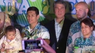 В Астане встретили триумфаторов Олимпиады в Рио