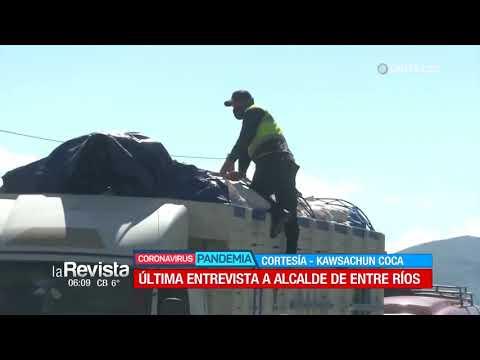 Hace tres semanas el alcalde de Entre Ríos brindaba un informe de los casos