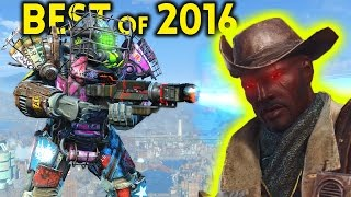 Fallout 4 TOP 5 MODS - Full Story Best of 2016