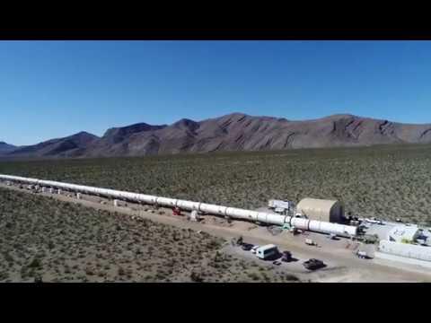 Hyperloop One DevLoop in Nevada - Electrek