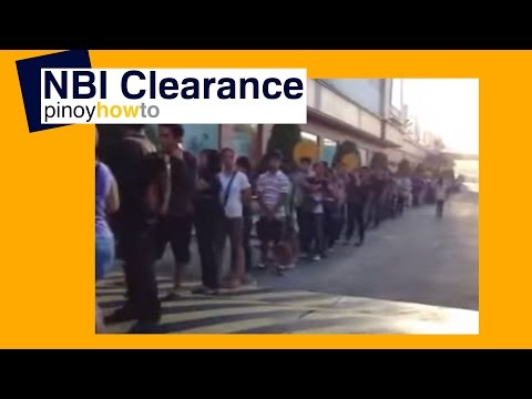 National Bureau of Investigation: How to get NBI Clearance at Robinsons Malls | Pinoy How To