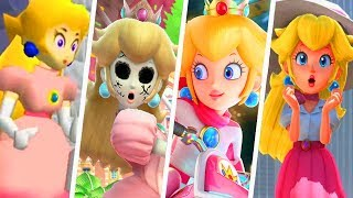 Evolution of Princess Peach Outfits (1996 - 2018)