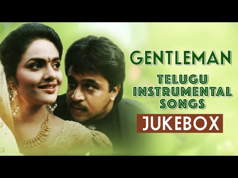 Gentleman Telugu Instrumental Jukebox | Gentleman | Arjun Sarja, Madhoo Bala