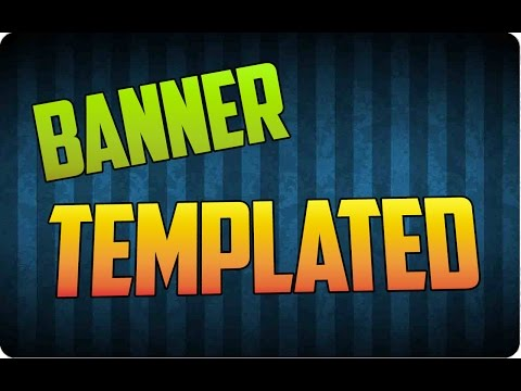 Banner Template YouTube 2014 | Download Link