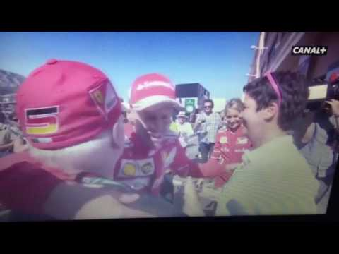 Vettel With His Family Monaco Gp 2017 Youtube