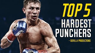 Top 5 Hardest Punchers in Boxing | GP