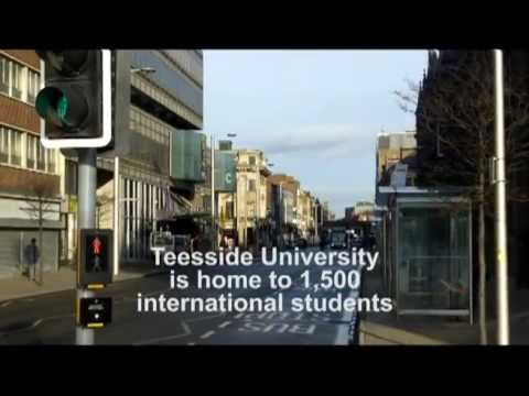 International Students at Teesside University, Middlesbrough