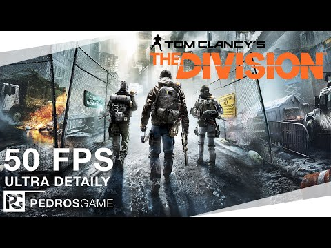 Pedro | Tom Clancy's The Division | PC CZ/SK Gameplay | 1080p 50FPS
