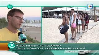 En 10 días prácticamente no se ha tenido que colocar la bandera sanitaria en las playas de Maldonado