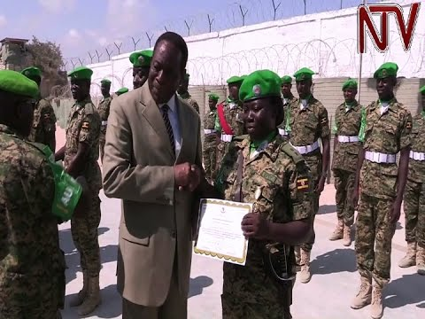 AU praises Uganda's role in maintaining peace and stability in Somalia