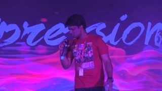 My First on-stage Solo Performnace || Full Video || Tech Mahindra || P2Pr Expressions 2015