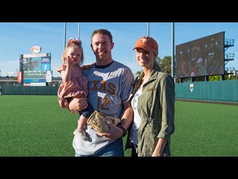 Colt McCoy visits Texas Baseball vs. Texas A&M [March 23, 2017]