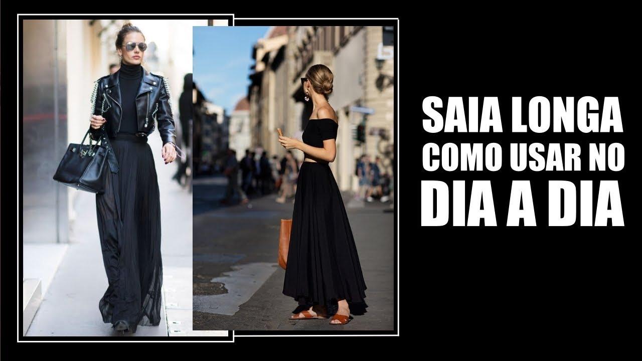 21f07331a5 COMO USAR SAIA LONGA - Vitória Portes - YouTube