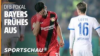 DFB-Pokal: SF Lotte gelingt die Sensation gegen Leverkusen | Sportschau