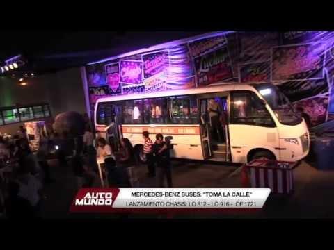 Lanzamiento nuevos chasis de Mercedes-Benz (Buses urbanos)