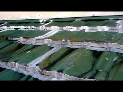 Beware of metal roof tiles
