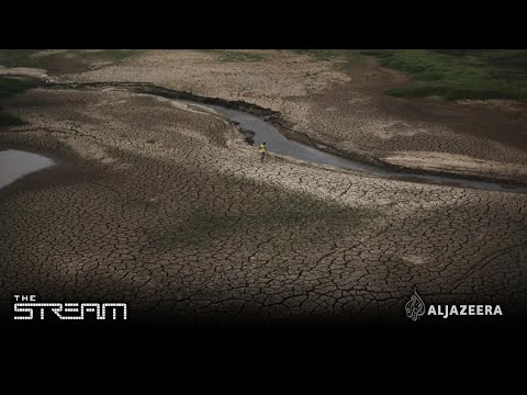 The stream -A dry future for one Brazilian state?