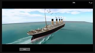 Roblox Titanic 2.25 UPDATE