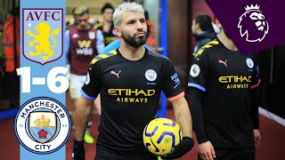 Highlights | Aston Villa 1-6 Man City | Aguero Hatrick, Mahrez  2 , Jesus
