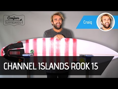 Channel Islands Rook 15 Surfboard Review + Futures AM2 Fins no. | Compare Surfboards