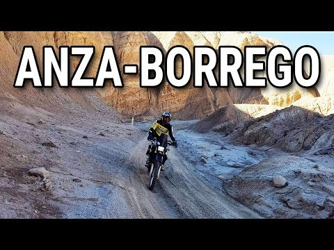 Exploring the Anza Borrego Off Road Trails on DUAL SPORT MOTORCYCLES!