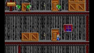 Dangerous Dave in the Haunted Mansion - Level 2 (1991) [PC] [MS-DOS]
