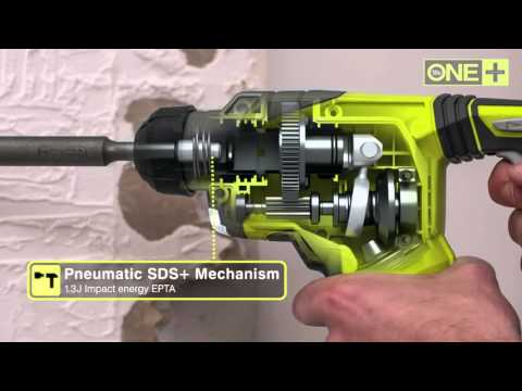 Ryobi ONE+ 18V SDS Drill   R18SDS