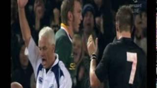 All Blacks v Springboks highlights