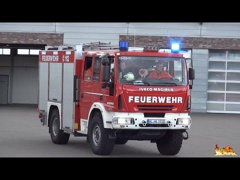 Einsatz für die Feuerwehr Winsen - Ausrücken und Einsatzfahrt mit TLF und LF