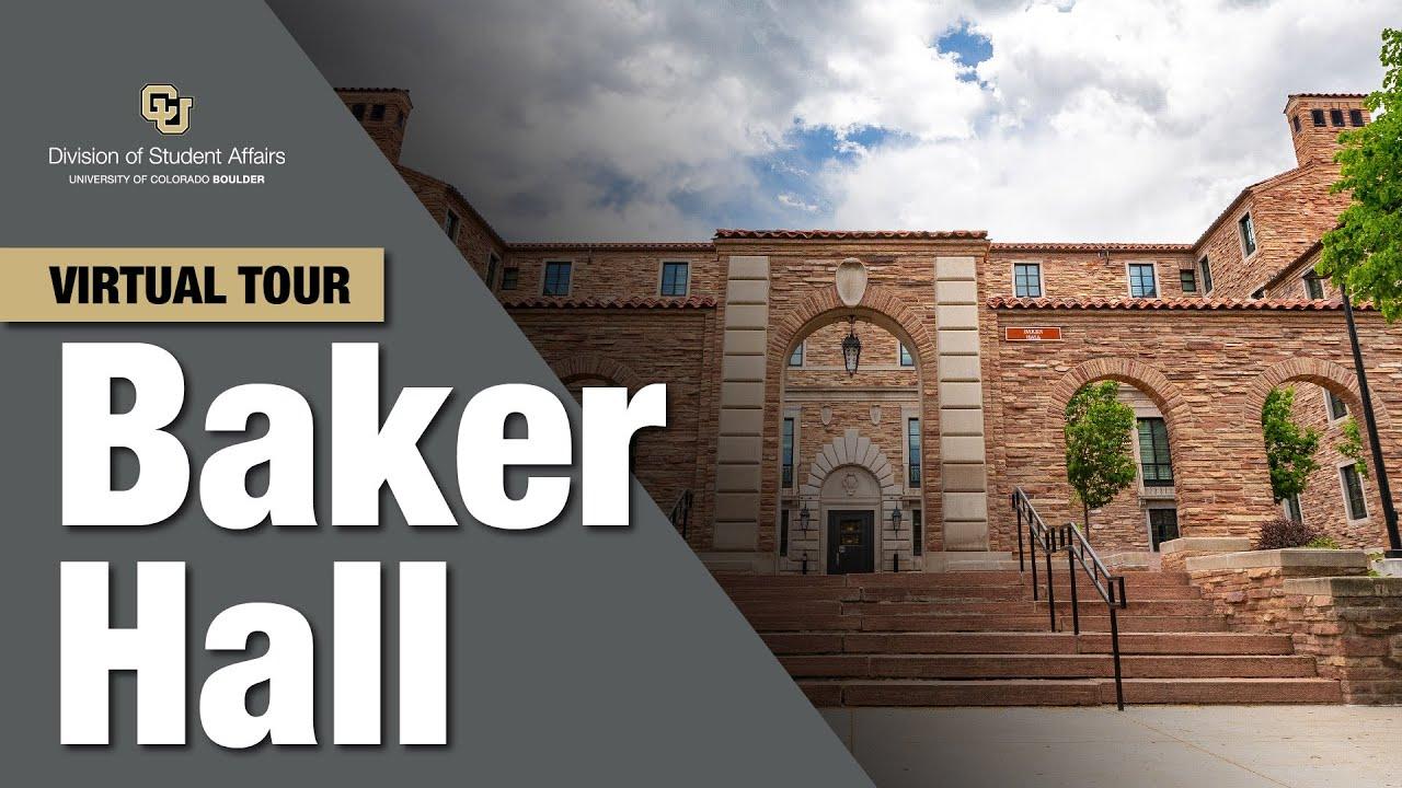 Baker Hall Virtual Tour Cu Boulder Youtube