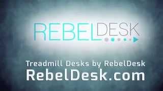 Treadmill Desks By Rebel Desk: Making Chairs Nervous (an Office Space Parody)