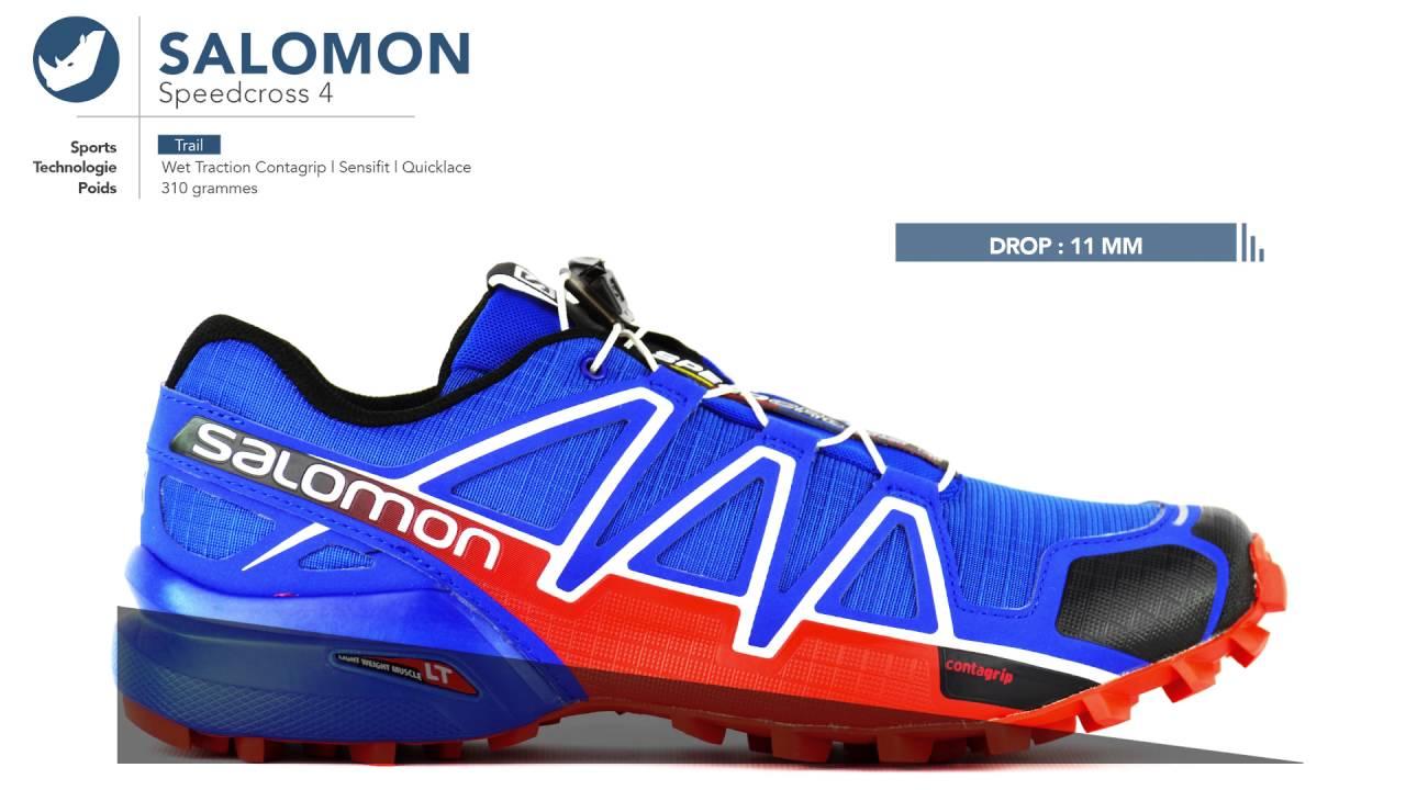 meilleure sélection a1de2 83fbb Speedcross 4 | Chaussures de Trail Salomon - homme