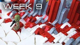 Building Crait in LEGO - Week 9: Rock Design