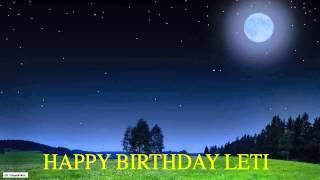 Leti   Moon La Luna - Happy Birthday