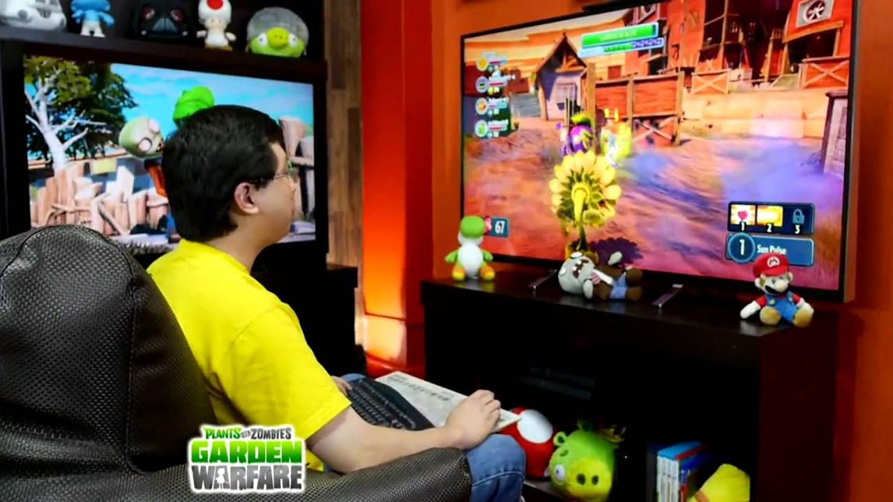PVZ/PS3/1.02] Plants VS Zombies Garden Warfare [TOOL MoDs Ps3 1.02 .