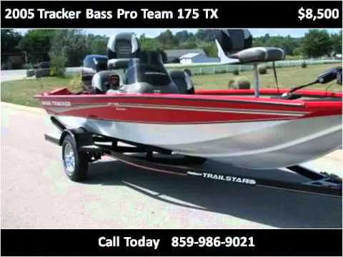 2005 tracker bass pro team 175 tx used cars berea ky youtube - Tacker fur polstermobel ...
